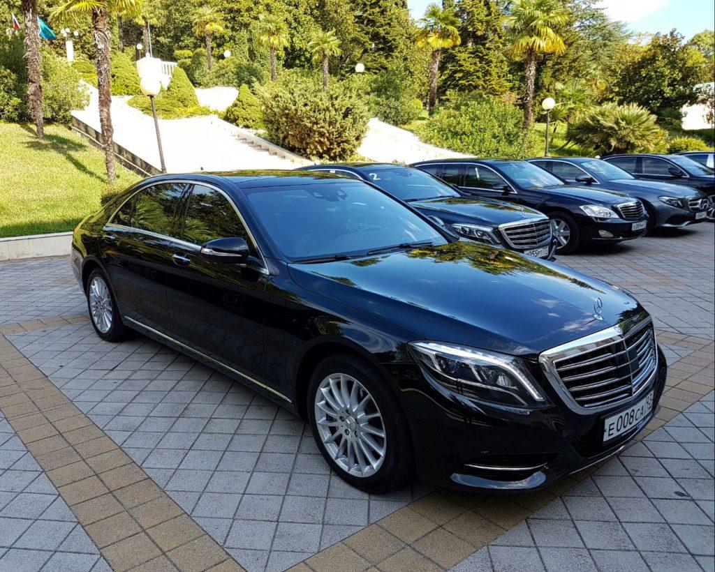 Mercedes 222 авто аренда прокат Мерседес Сочи