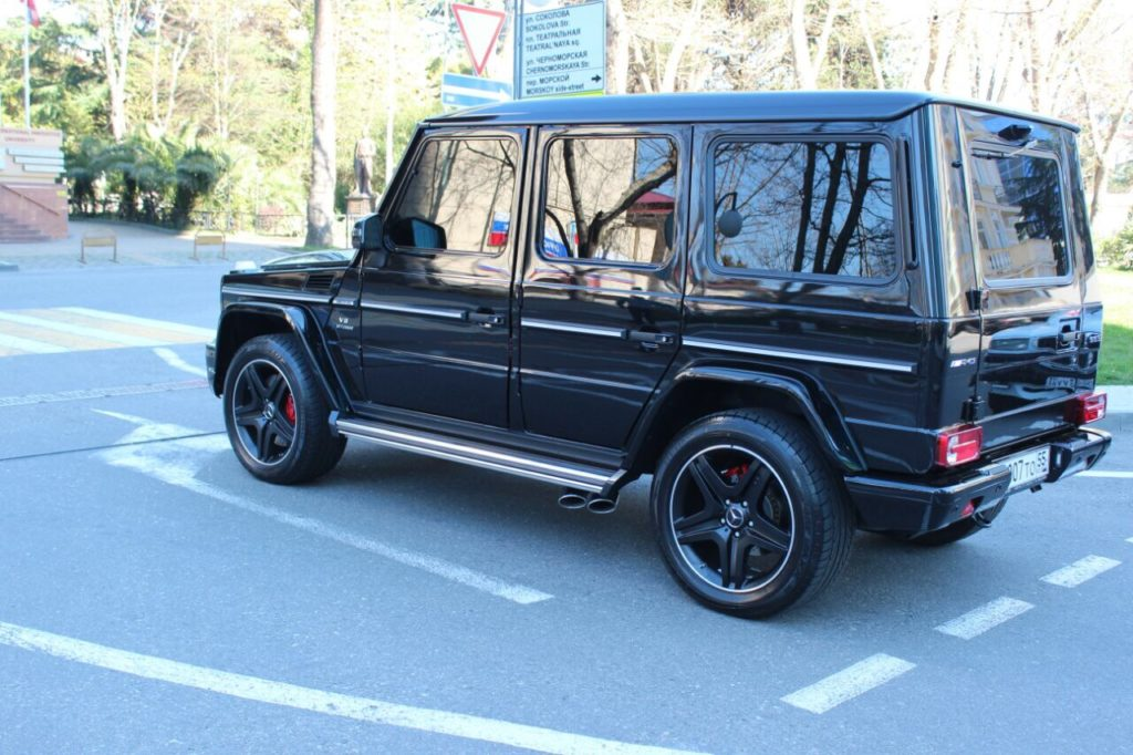 Mercedes G мерседес гелентваген аренда Сочи