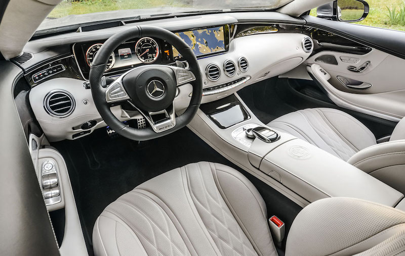 салон Mercedes S 222  Сочи