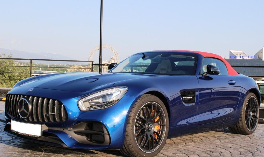 Прокат Mercedes-AMG GT