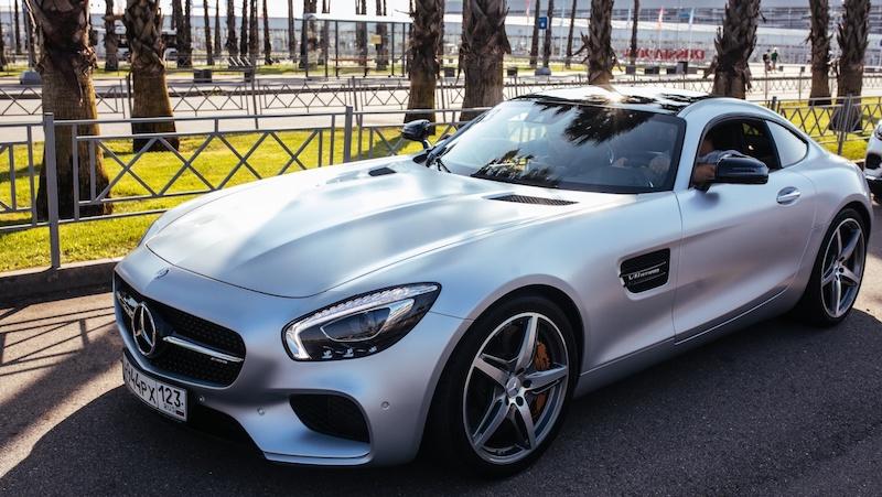 прокат Mercedes-Benz AMG GTs