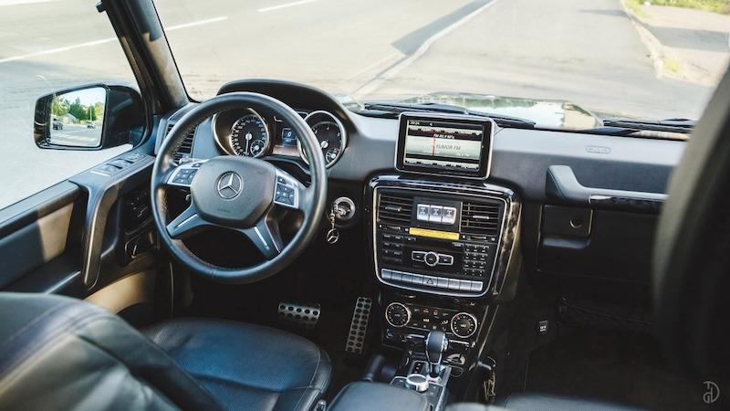 Прокат авто Мерседес G500 в Сочи