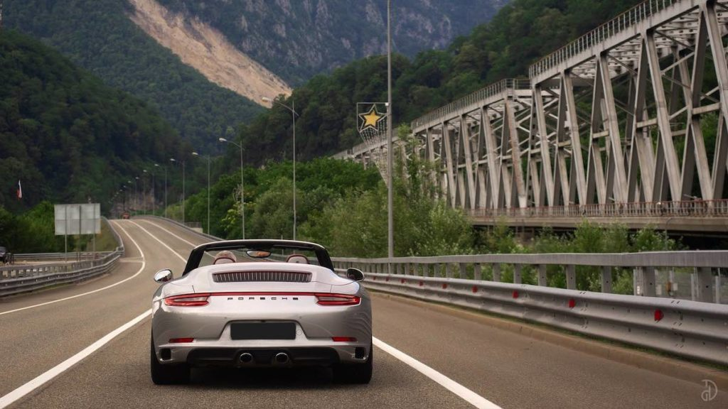 Porsche 911 красная поляна прокат машин