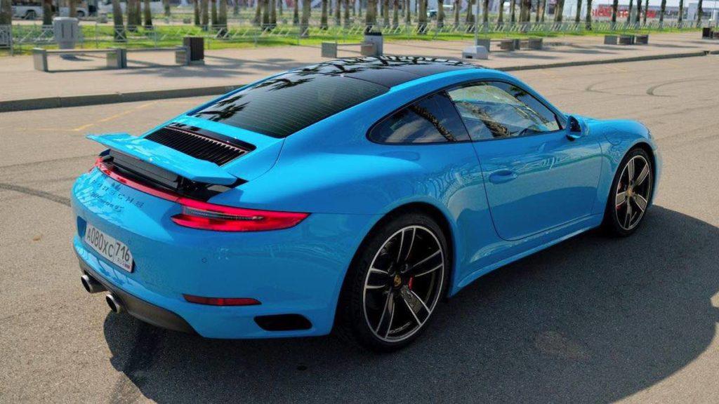 Porsche 911 Carrera прокат красная поляна