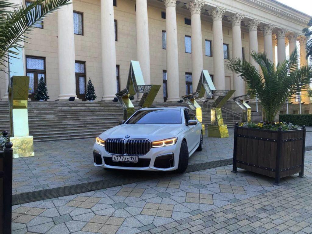 белый люкс автомобиль премиум кар
