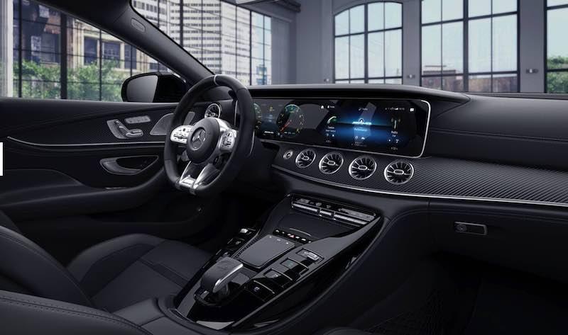 фото салон Mercedes GT Сочи